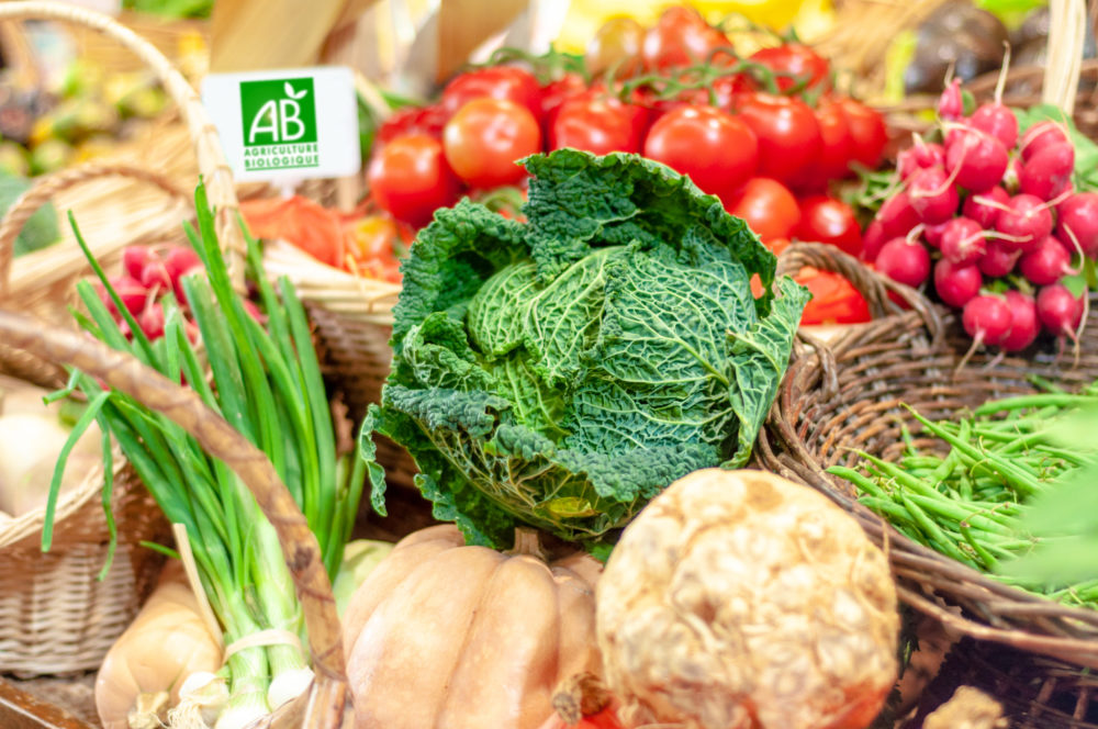 labels bio alimentation